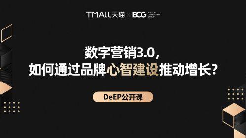 数字化品牌建设 阿里巴巴联合BCG发布数字化品牌资产DeEP模型 图1