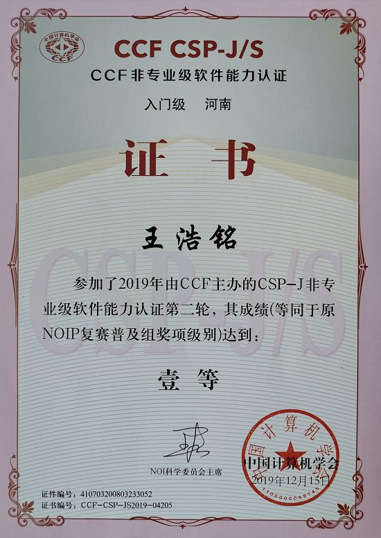 柯岚老师指导的小学生获得中学组奥赛奖项 图2