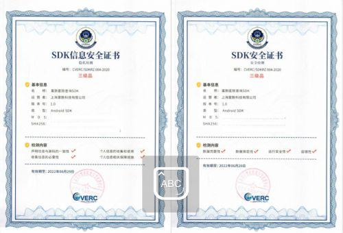 富数科技隐私计算SDK获国家权威机构认证