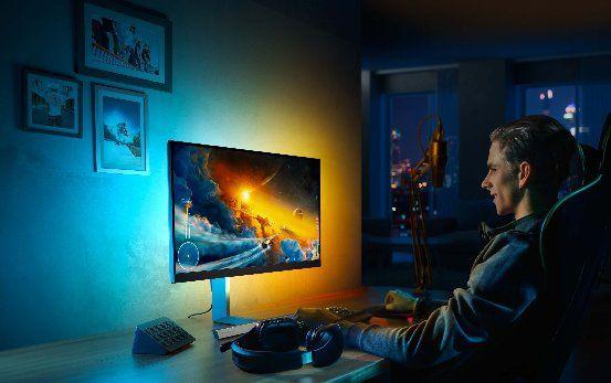 达人说丨显示器自带流光溢彩灯效,玩游戏究竟有多带感 图1