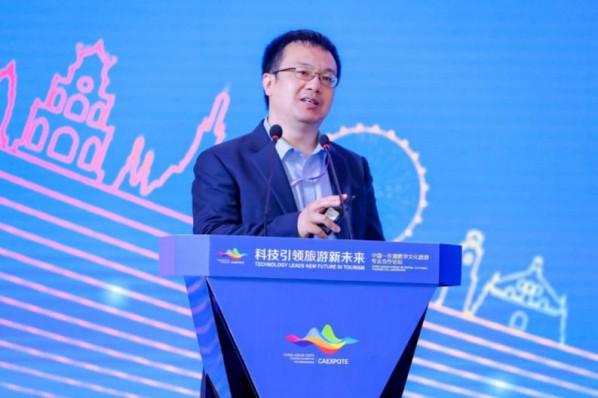 蒋骏先生发表演讲