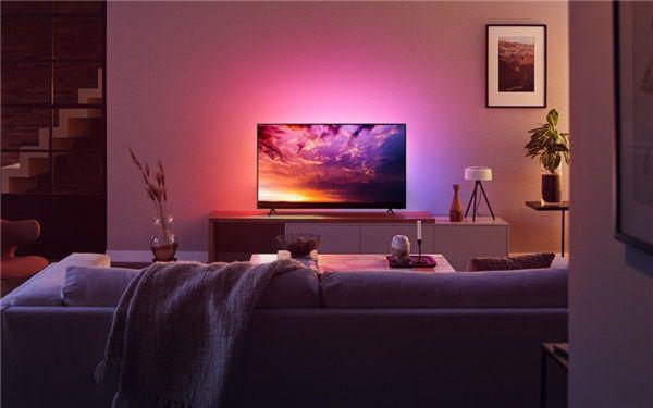寒假宅家,飞利浦环景光8500系列电视让孩子健康畅享动画 图1