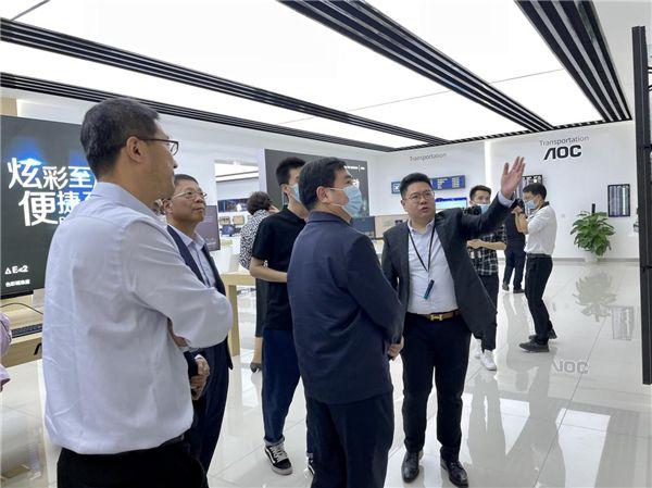 冠捷全屏(武汉)展示厅正式启用,全面展示解决方案及创新发展成果 图9