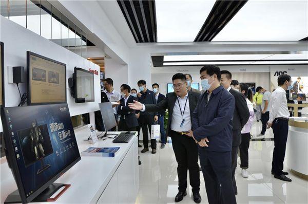 冠捷全屏(武汉)展示厅正式启用,全面展示解决方案及创新发展成果 图8