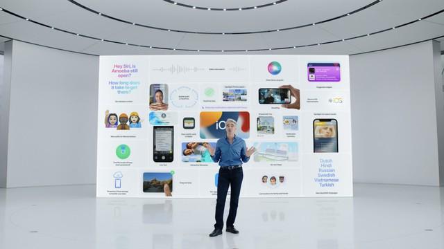苹果于WWDC21全球开发者大会,正式发布iOS 15系统