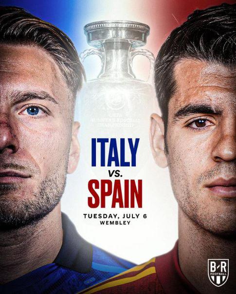 欧洲杯半决赛迎来宿敌之战,百度App直播意大利VS西班牙 图1