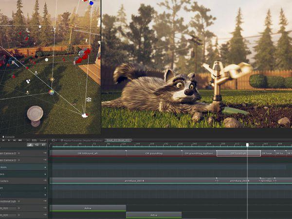 Unity动画实时渲染技术——制作动画短片
