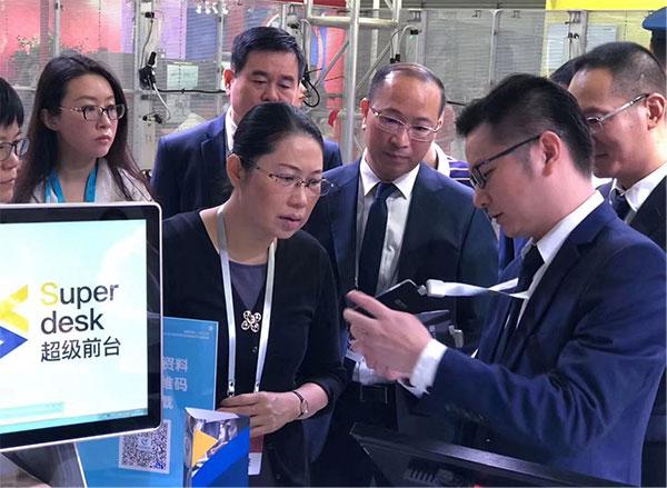 易思智E-badge智能卡证系统火爆亮相国际物业博览会 图3
